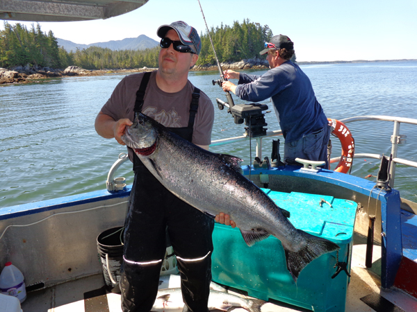 D&L Prince Rupert fishing charters.